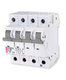 Wyłącznik nadprądowy ETIMAT 6 3p+N C50 ETI 002146521