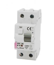 Wyłącznik różnicowoprądowy z zabezpiecz KZS-2M AC B40/0.03 ETI 002173108