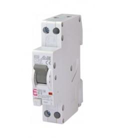 Wyłącznik różnicowoprądowy z zabezpiecz KZS-1M-SUP 1p+N A C20/0.03 6kA ETI 00217