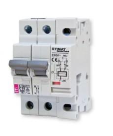 Wyłącznik nadprądowy ze zdalnym sterowa ETIMAT RC 1p+N C10 ETI 631011101