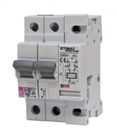 Wyłącznik nadprądowy ze zdalnym sterowa ETIMAT RC 2p B63 ETI 636320101