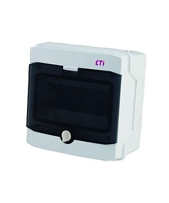 Rozdzielnica natynkowa ECH-12PT-S IP65 drzwi transparentne ETI 001101062