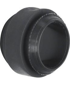Łącznik do kombinacji wielokrotnej; czarny; ISO-Panzer IP66