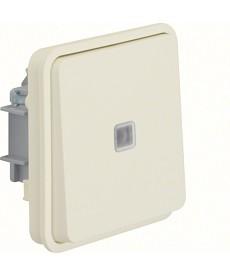 W.1 Łącznik uniwersalny z podświetleniem IP55 biały