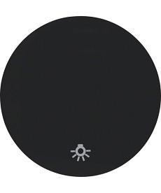R.1/R.3 Klawisz z nadrukiem symbolu światło czarny, połysk
