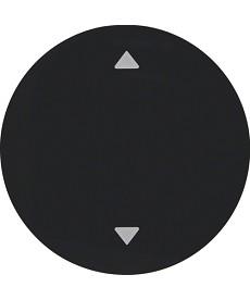 R.1/R.3 Klawisz z nadrukiem symbolu strzałki czarny, połysk