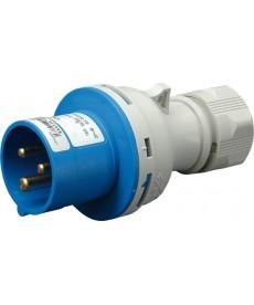 16A, 230V, 2P+PE, Wt czka IP44 EV 1632