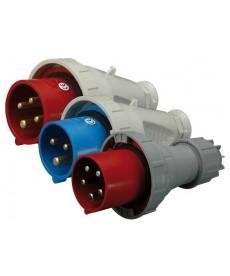 125A, 400V, 3P+N+PE, Wt czka IP67 EVH 12553