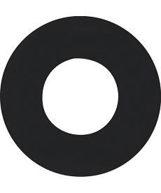 R.1/R.3 Płytka czołowa do łącznika i sygnalizatora świetlnego E10, czarny, poł.