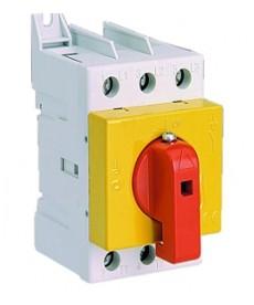 Rozł. bezpieczeństwa z pokrętłem bezpoś LAS 25 ż/cz ETI 004661012