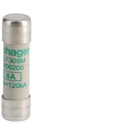 Wkładka topikowa cylindryczna 10x38 mm aM 8 A 500 V a.c.