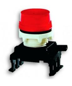 Lampka s gnalizac jna, soczewka gładka, HB08F2