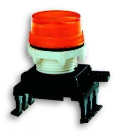 Lampka s gnalizac jna, soczewka karbowa HB07F7
