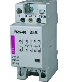 STYCZNIK MODULOWY R25-31 230V 25A 3Z+1R ETI 02462320