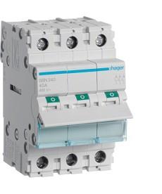 Rozłącznik modułowy 3x40a hager sbn340