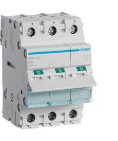 Rozłącznik modułowy 3x100a hager sbn390