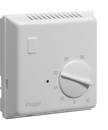 Termostat bimetalowy bez lampki kontrolnej 230V 1NO 10A