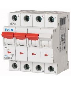 Wyłącznik nadprądowy 3+N-bieg PLSM-C10/3N-MW EATON 242539