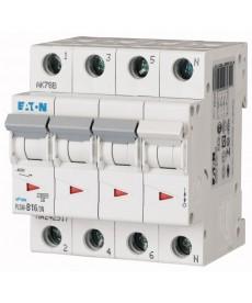 Wyłącznik nadprądowy 3+N-bieg PLSM-C16/3N-MW EATON 242543