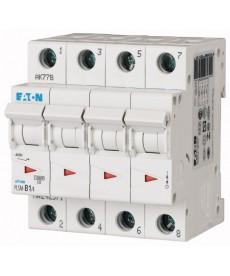 Wyłącznik nadprądowy 4-bieg PLSM-C1/4-MW EATON 242597