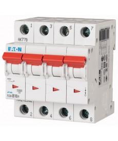 Wyłącznik nadprądowy 4-bieg PLSM-D10/4-MW EATON 242631