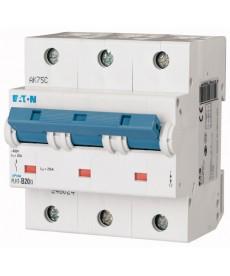 Wyłącznik nadprądowy 3-bieg PLHT-C20/3 EATON 248033