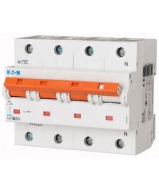 Wyłącznik nadprądowy 3+N-bieg PLHT-D63/3N EATON 248073