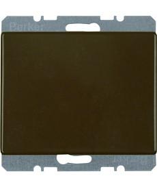 Zaślepka z elementem centralnym; brązowy; Arsys