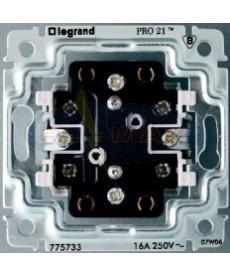 Sistena gniazdo x2 z/u 2p+z, legrand 775733