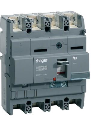 Wyłącznik mocy x250 4P N50% 40kA 160A TM