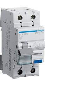 RCBO Wyłącznik różnicowoprądowy z członem nadprądowym 1P+N 6kA B 16A/10mA Typ A