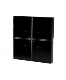 Szklany przycisk dotykowy 2-przyciskowy FF GS2-AC-R-B