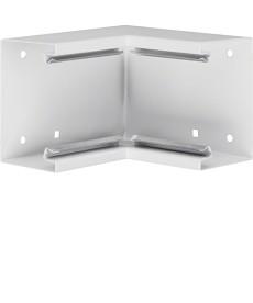 BRS Kąt wewnętrzny 65x100, stalowy, biały