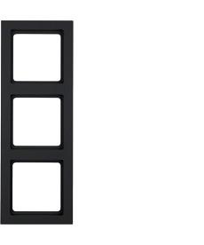 RAMKA 3-KROTNA ANTRACYT AKSAMIT BERKER 10136096