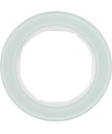 R.classic Ramka 1-krotna, szkło, biały