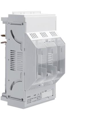 Podstawa bezpiecznikowa,NH00,3x160A montaż na szynach 40mm