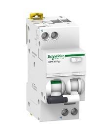 Wyłącznik kombinowany iDPNNVigi-C40-300-AC C 40A 1N-biegunowy 300 mA typ AC SCHN