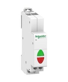 Lampka podwójna iIL-2-R/G-230 zielona/czerwona 110...230 V AC, 110...130 V DC SC