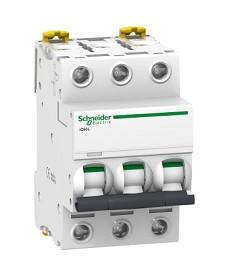 Wyłącznik nadprądowy iC60L-Z0,5-3 Z 0,5A 3-biegunowy SCHNEIDER A9F92370