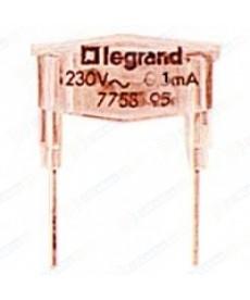 SI: NEON. POM. 230V 1MA + KAS. LEGRAND.775895