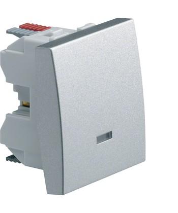 Łącznik klawiszowy przyciskowy zwierno/rozwierny z opcją podświetlenia; Systo; 2