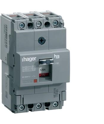 Wyłącznik mocy x160 3P 40kA 100A