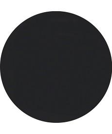 R.1/R.3 Płytka czołowa z pokrętłem do ściemniacza obrotowego, czarny, połysk