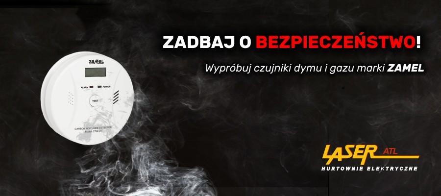 Czujniki dymu i gazu ZAMEL